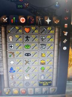 S>OSRS ACCOUNT