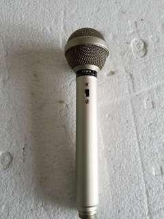 AIWA DM-82 Uni-Directinal Dynamic microphone (古董咪) $180