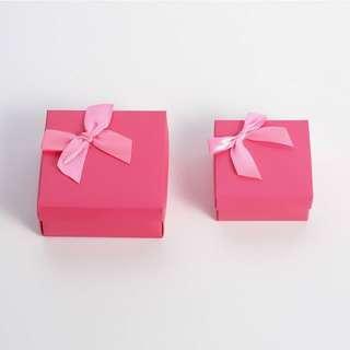 預約 韓式簡約首飾盒 收納 簡約 送禮 包裝盒 ♬胖胖小屋