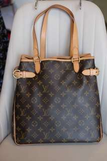 Louis Vuitton Batignolles Vertical Tote Bag