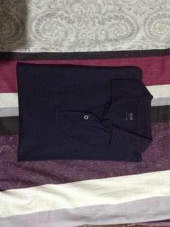 Uniqlo Navy Blue Polo Shirt