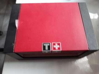 Box jam tissot asli, ada booklet nya jg