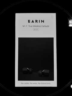 Earin M-1 True Wireless Earbuds (Black Version)