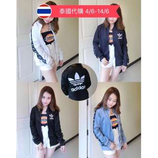 泰國代購 Preorder from Thailand - Adidas Jacket 🌸