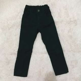 H&m black denim pants