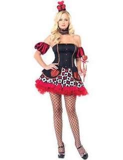 QUEEN OF HEARTS Wonderland Queen Cosplay Costume
