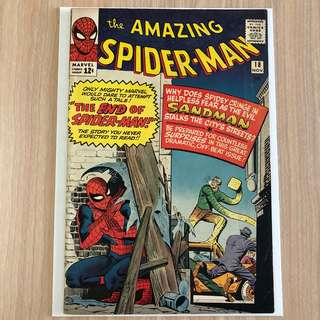 MARVEL COMICS The Amazing Spider-Man #18-1st Appearance of Ned Leeds (Serious Buyers Only)