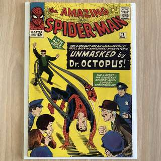 MARVEL COMICS The Amazing Spider-Man #12-3rd Appearance of Doctor Octopus (Serious Buyers Only)