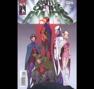 BATTLE OF THE PLANETS (2002) Image comics  Various issues