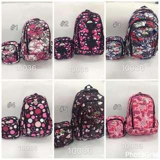 Samsonite backpack & slingbag set