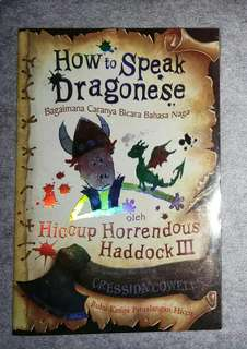 NOVEL TERJEMAHAN HOW TO SPEAK DRAGONESE