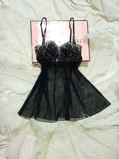 Victoria's Secret Designer's Collection Babydoll Lingerie