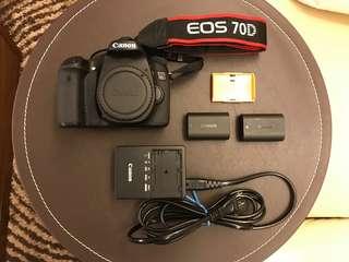 🚚 Canon 70D EFS 18-135mm 公司貨+ 原廠電池x2
