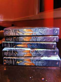 Percy Jackson & the Olympians series set