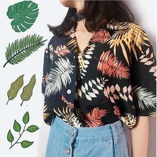 🍑: tropical blouse