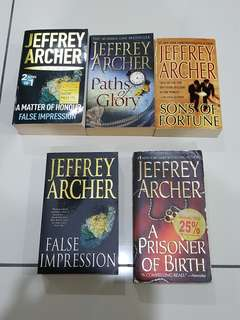 Jeffrey Archer - various titles