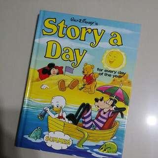 Walt Disney Sunmer Story A Day