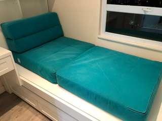 單人梳化床