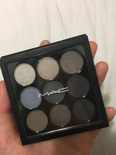 MAC Eyeshadow X9: Navy Times Nine