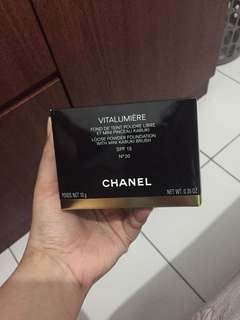 Chanel Vitalumiere Loose Powder