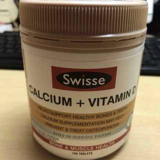 Swisse Calcium + Vitamin D 150 Tablets