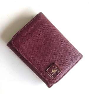 經典酒紅波特包錢包
