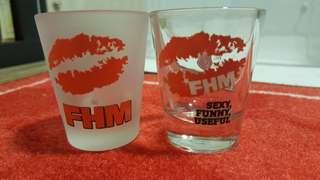 ☆ BNIP - FHM Shotglasses