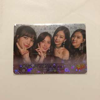Black Pink Yes! Card 第36期 閃卡