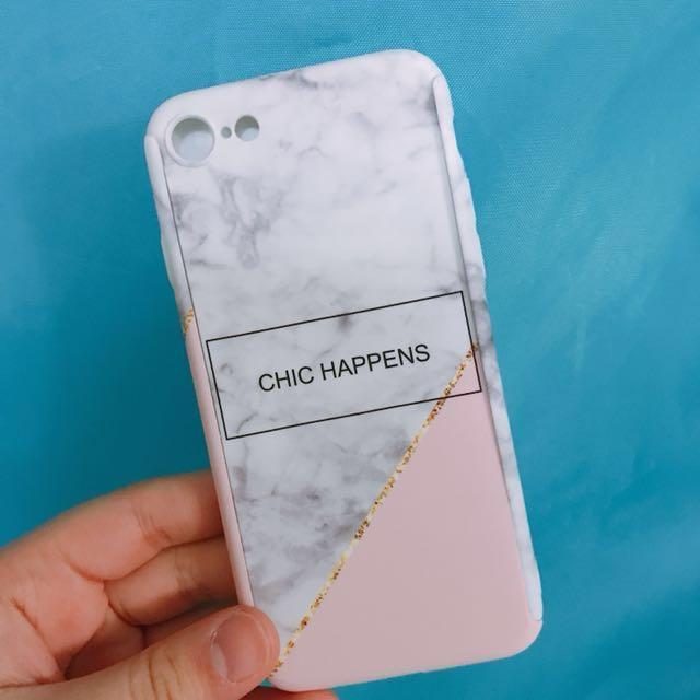放 Iphone7雲石機殼(包玻璃mon貼)