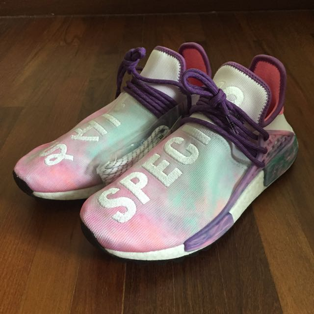 info for 3aca6 da2b0 Adidas PW HU NMD Holi Pink Glow (US 9.5), Men s Fashion, Footwear ...
