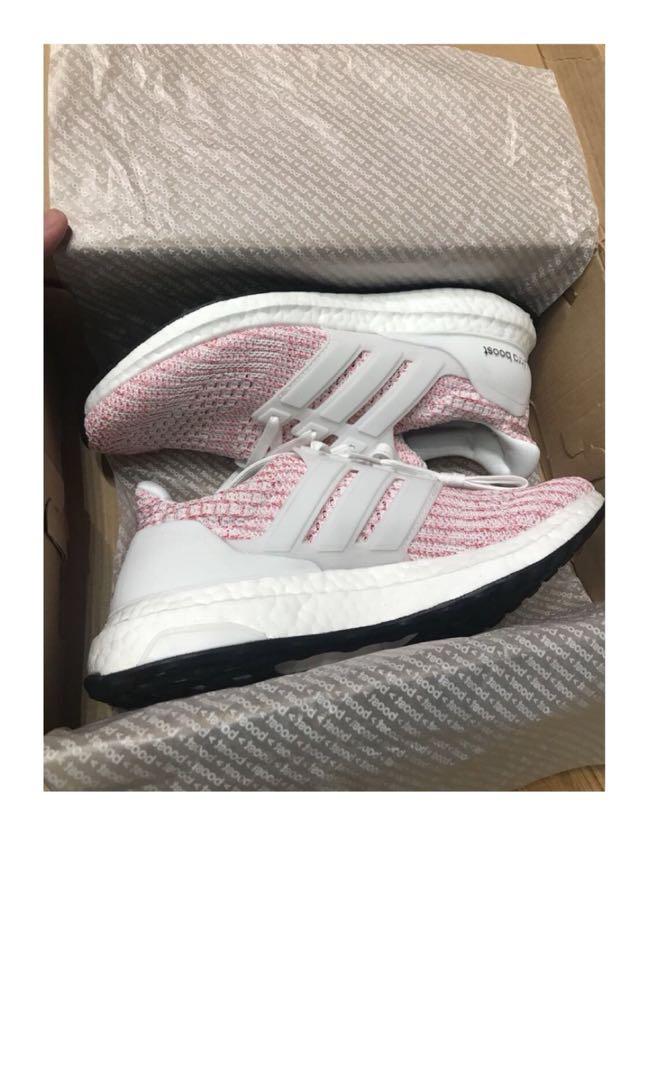 b7998fcd3 Adidas Ultraboost 4.0 Candy Cane Multicolor Pink 100% ORIGINAL BASF ADIDAS  BOOST