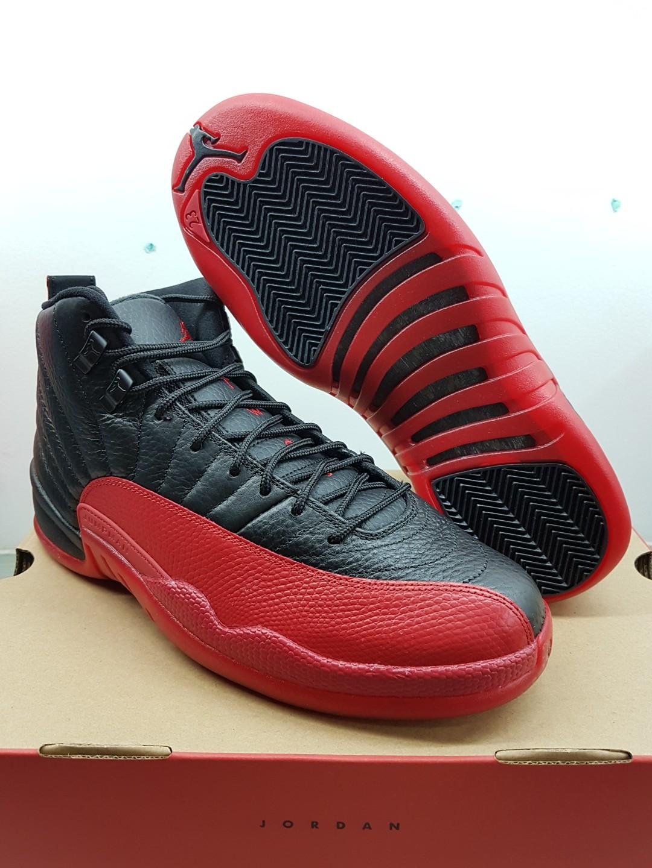 50474c692a8 Air Jordan 12 Flu Game bred, Men's Fashion, Footwear, Sneakers on ...