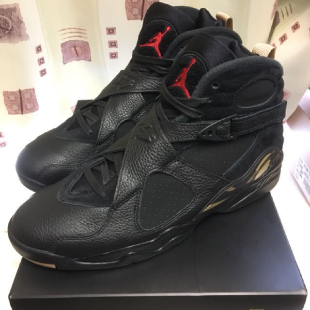 sports shoes 7b05f 491d5 Air Jordan 8 OVO Black us10