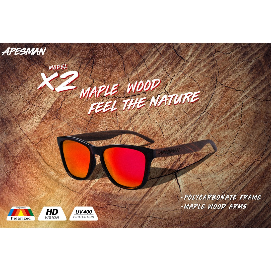 5258937966 Polarized Sunglasses Apesman