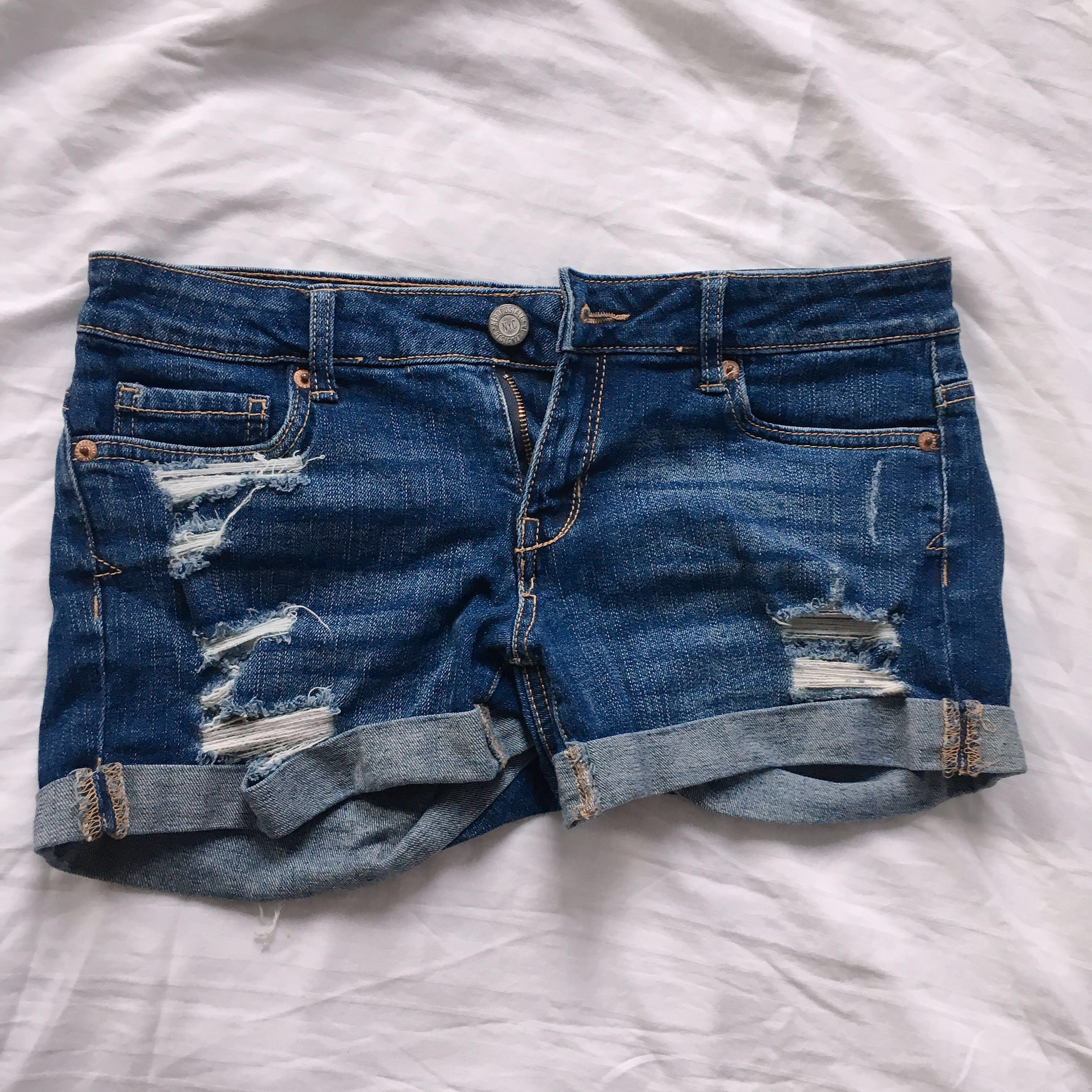 66afe211a3 authentic aeropostale ripped denim shorts, Women's Fashion, Clothes ...