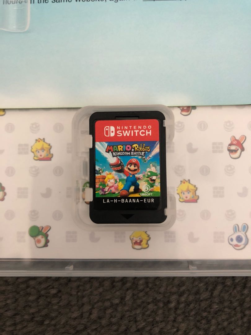 BNWOT Mario + Rabbids Kingdom Battle - Switch
