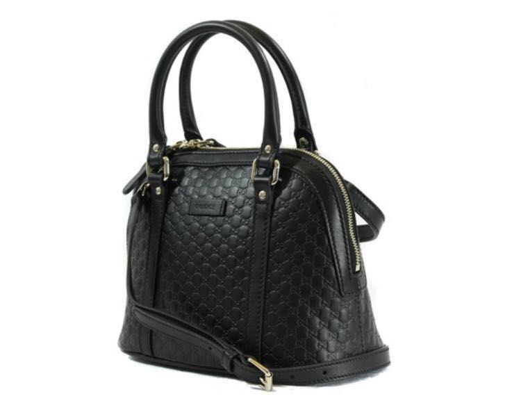 54b64e24d9c0c3 Brand new Gucci microguccissima bag in black leather, Luxury, Bags &  Wallets, Handbags on Carousell