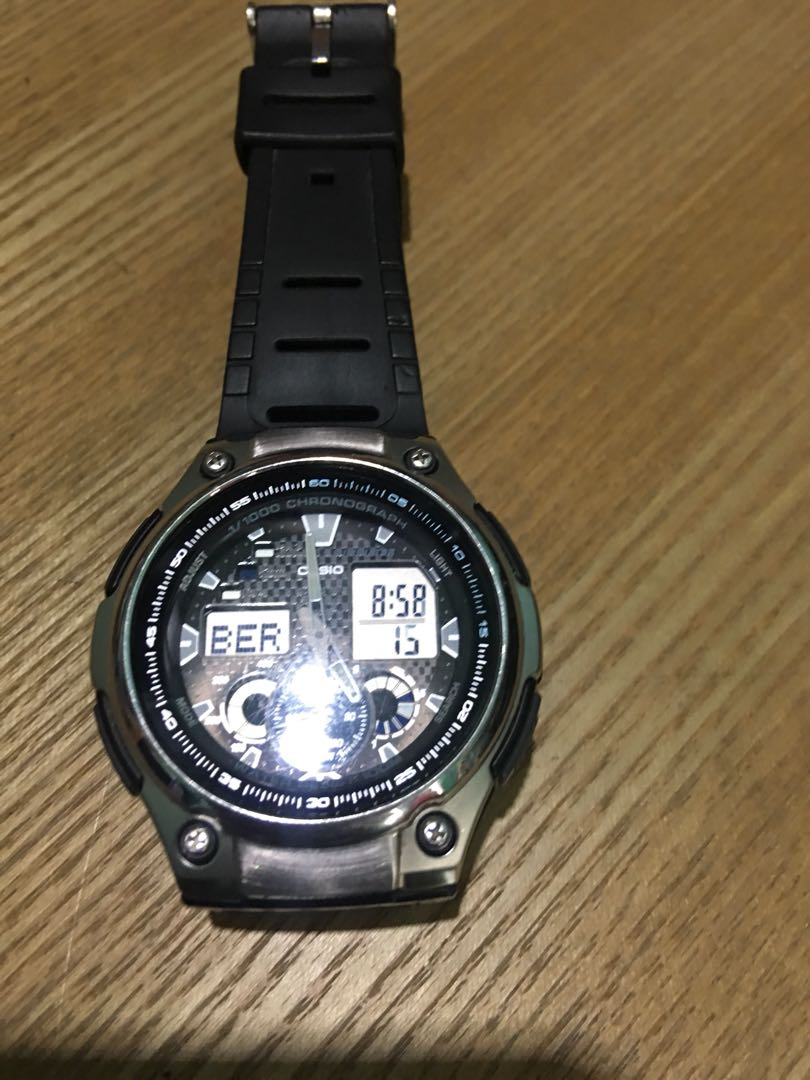 Casio Illumintor Mens Fashion Watches On Carousell Edifice 543d Stainless Silver Chrono Men Watch