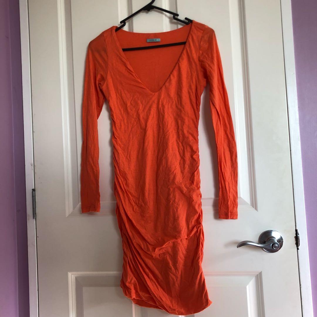 Coral Kookai dress
