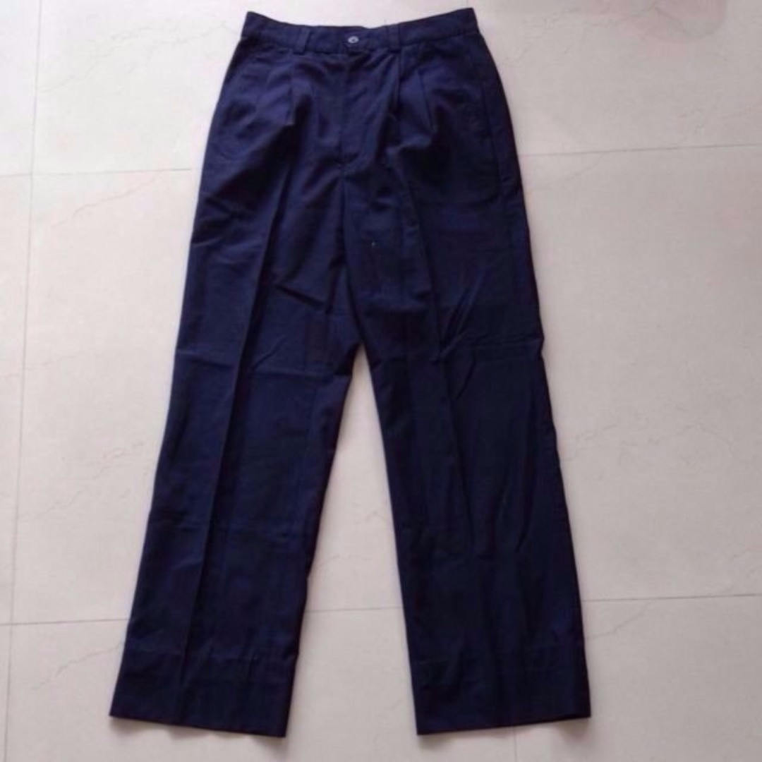 cc5726dc Dark Navy Blue (almost Black) Cotton Formal Office Pants, Women's ...