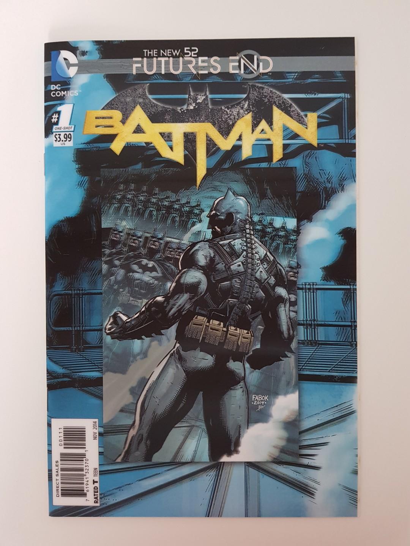 DC Comics New 52 Future's End Batman #1