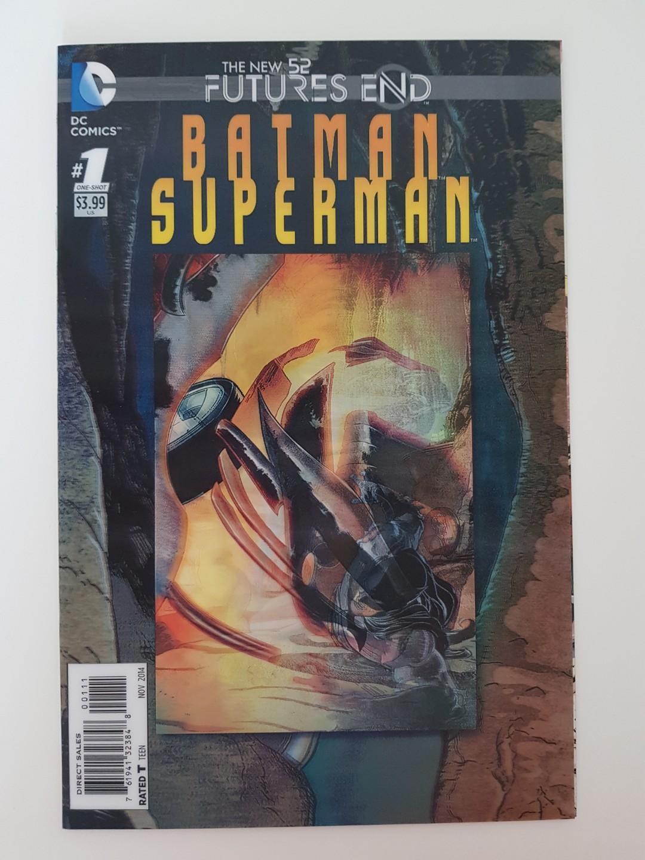 DC Comics New 52 Future's End Batman Superman #1