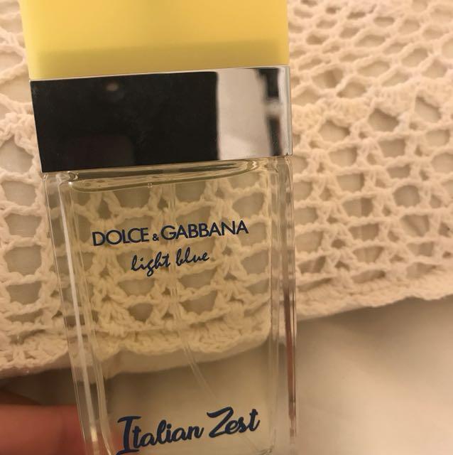 Dolce and Gabbana Italian zest light blue