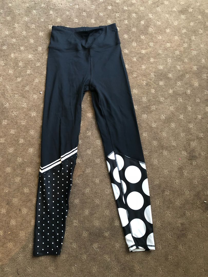 5220aee19cf76 Full length patterned gym leggings, Women's Fashion, Clothes on ...