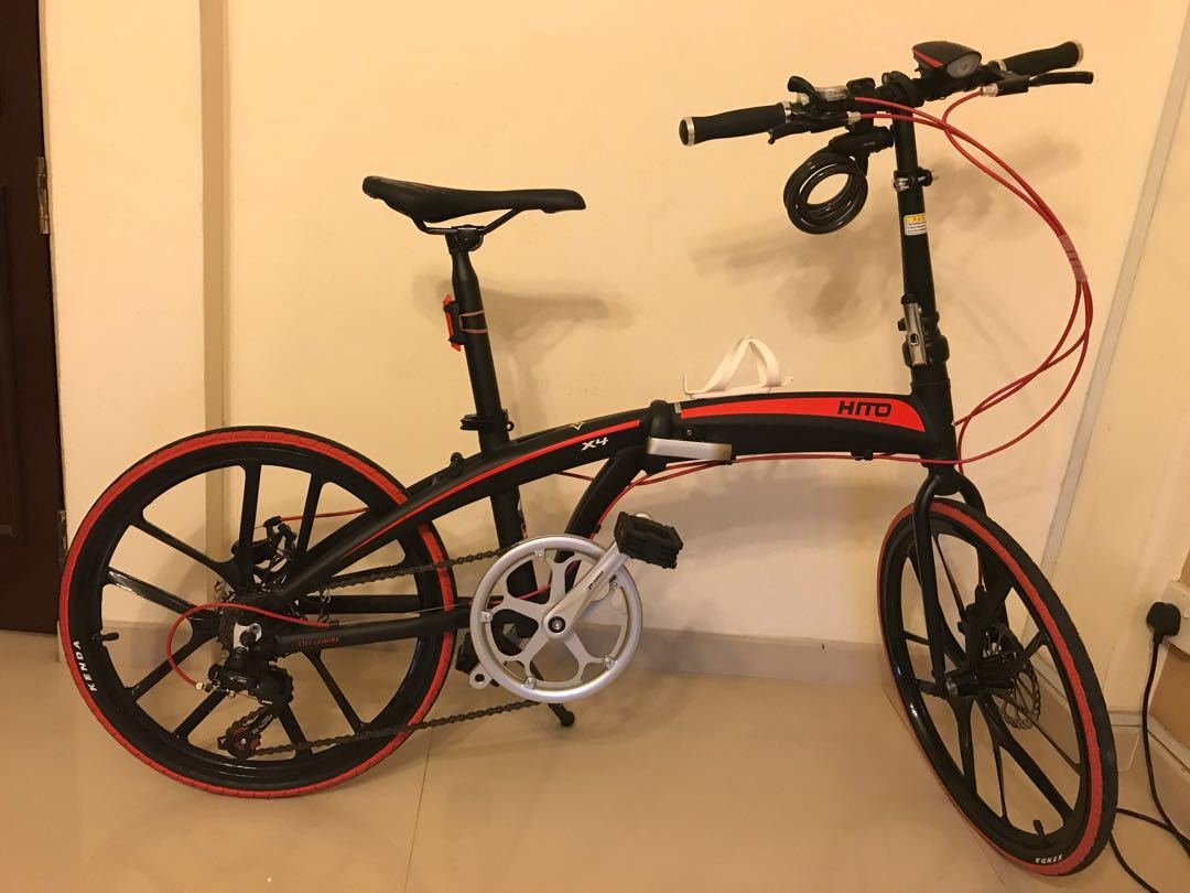 33f02f4085e Hito Folding Bike, Bicycles & PMDs, Bicycles, Others on Carousell