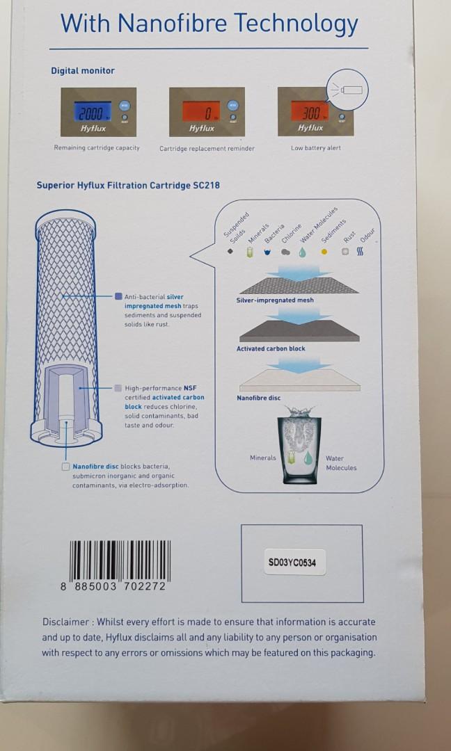 Hyflux Digital Water Purifier S218