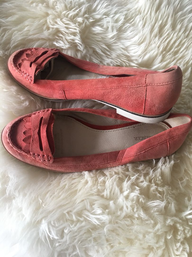 JO MERCER Leather suede flats - Ladies size 39/8