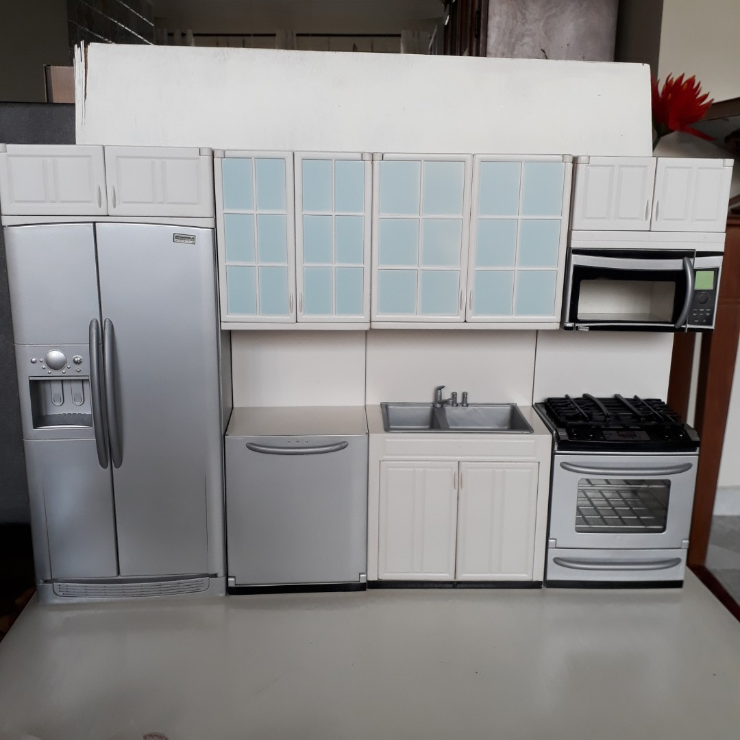 Kenmore Kitchen Doll Furniture 1 6 Scale Perfect For Blythe