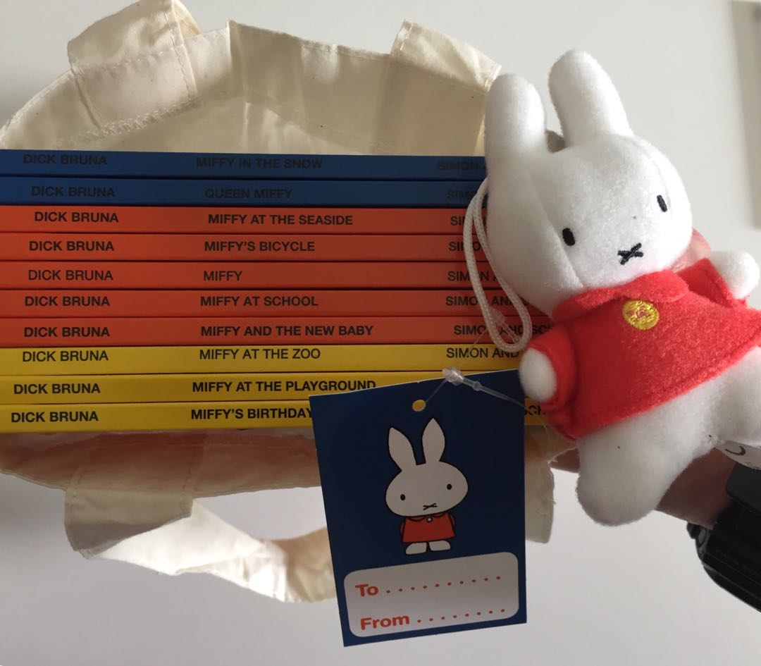 Miffy Collection with a Toy