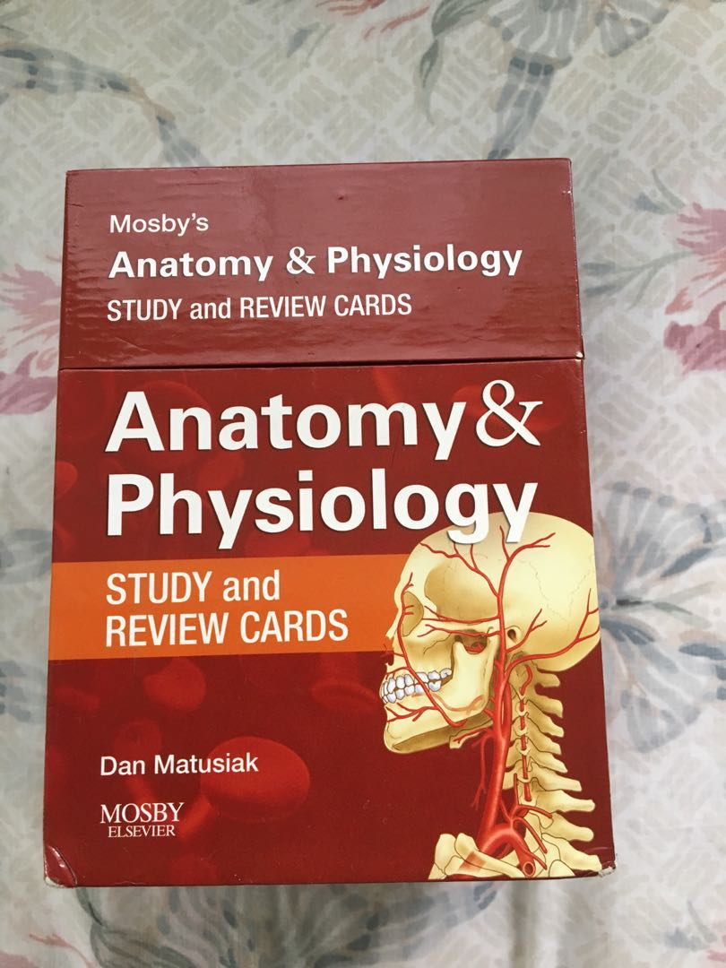 Mosbys anatomy & physiology study and review cards, Textbooks on ...